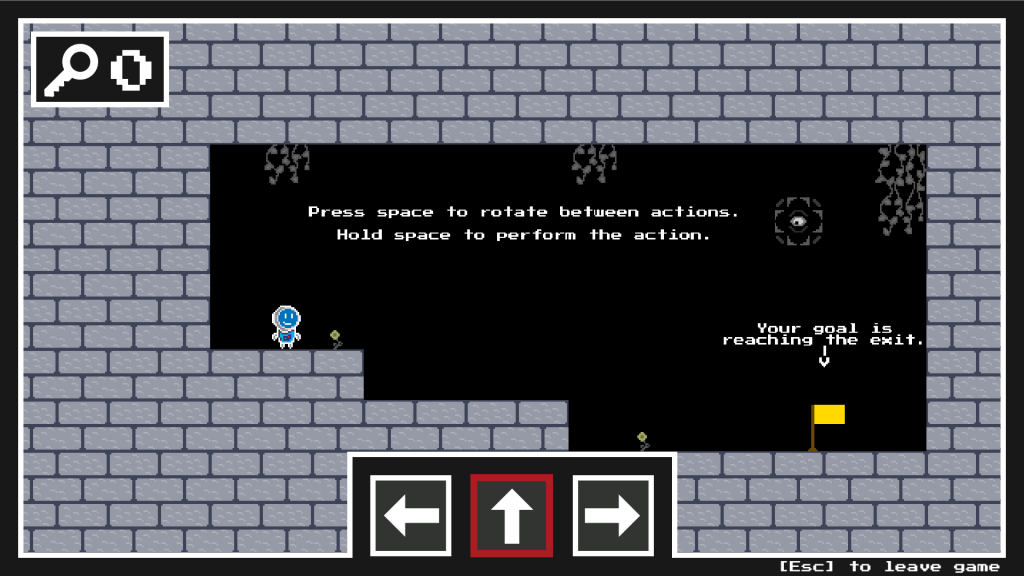 Screenshot of Hold Space To Play game